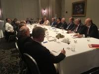 Parlamentarische Gruppe rechte Tischseite