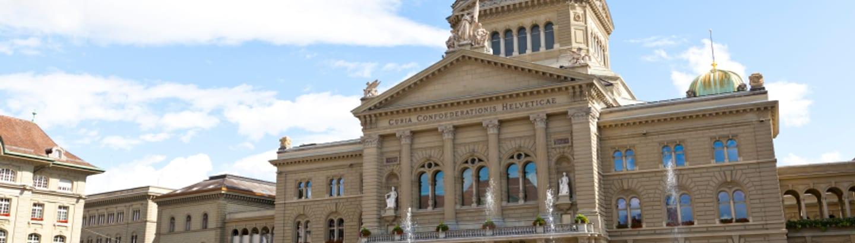 Bundeshaus mit Platz